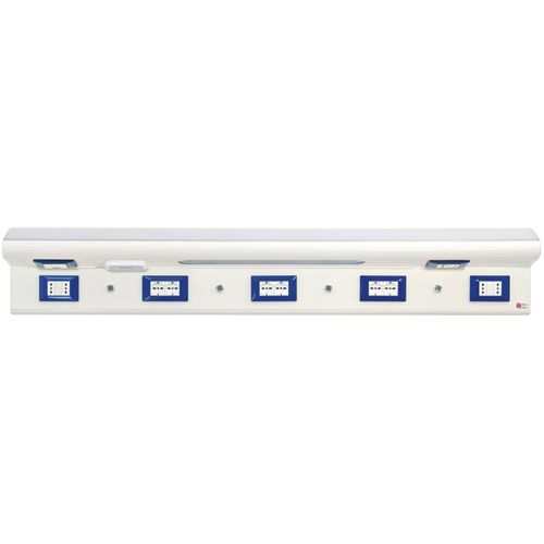 horizontal bed head unit / with light