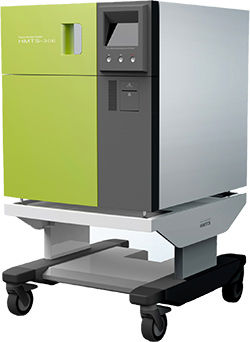 medical sterilizer / hydrogen peroxyde / mobile / with touchscreen