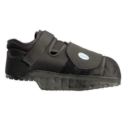 semi-rigid sole post-operative shoe