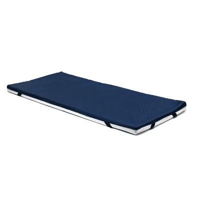 hospital bed mattress overlay / gel / visco-elastic / anti-decubitus