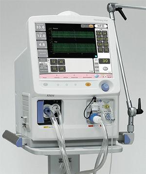electro-pneumatic ventilator / resuscitation / infant / pediatric