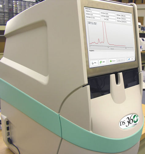 automated HbA1c analyzer / for clinical diagnostic / benchtop