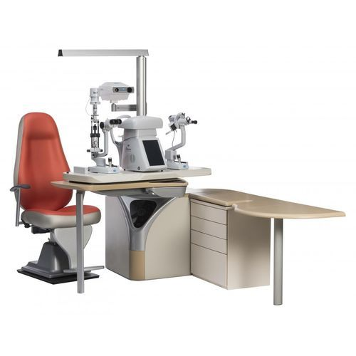 ophtalmic workstation / with chair