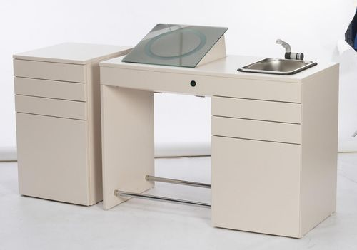 ophtalmic workstation / with sink