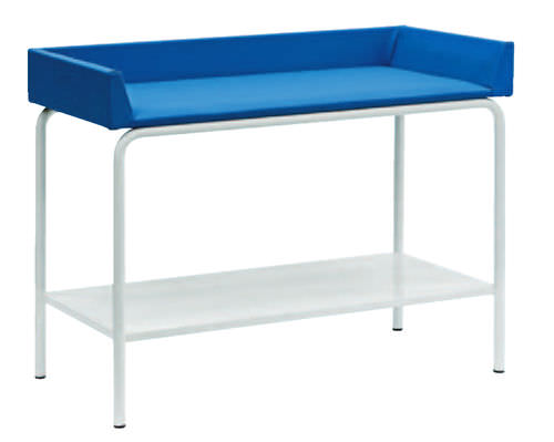 fixed-height examination table / 1 section / pediatric