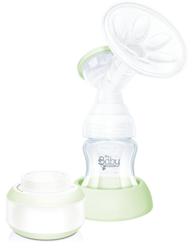 electric breast pump / with accessory kit