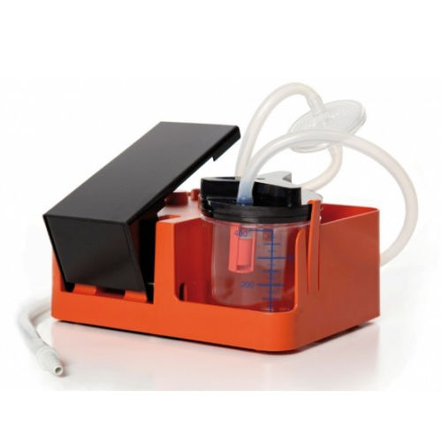 manual mucus suction pump / foot-operated / portable