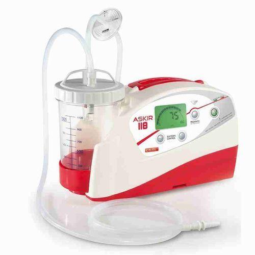 battery-powered mucus suction pump