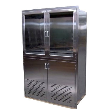 hospital cabinet / stainless steel