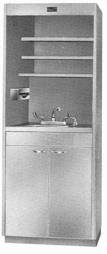 laboratory fume hood / floor-standing / laminar flow