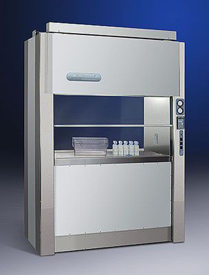 laboratory fume hood / cage changing / transfer / floor-standing