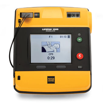 automated external defibrillator / with multi-parameter monitor