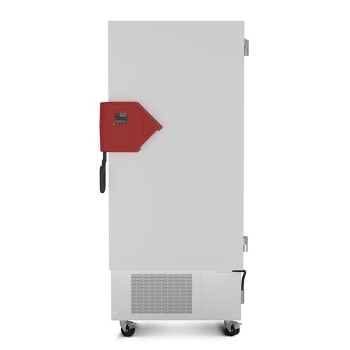 laboratory freezer / cabinet / on casters / ultra low-temperature