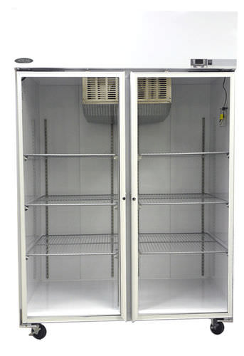 laboratory freezer / cabinet / with automatic defrost / 2-door