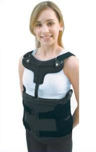 thoraco-lumbo-sacral support corset / lordosis