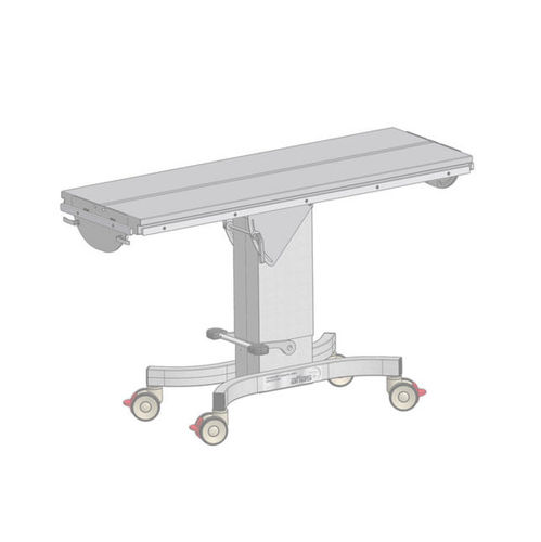 universal operating table / veterinary / hydraulic / height-adjustable