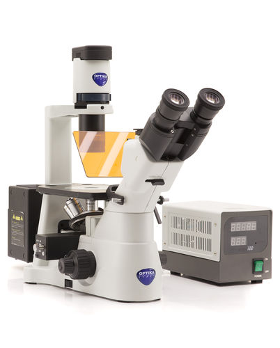 laboratory microscope / for life sciences applications / for materials research / for the pharmaceutical industry