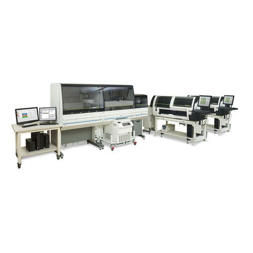 pre-analytical laboratory automation system / post-analytical / for hematology analyzers