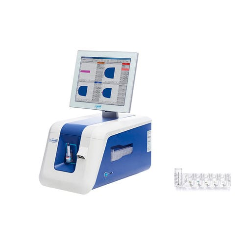 fully automated hemostasis analyzer / human / POC / bench-top