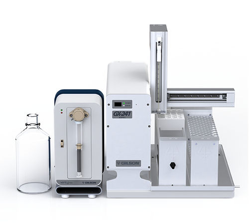 automated sample preparation system / laboratory / for liquid handling / for solid-phase extraction