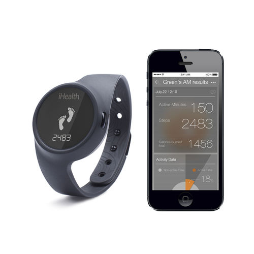 wireless activity monitor / wearable / wrist / watch-type