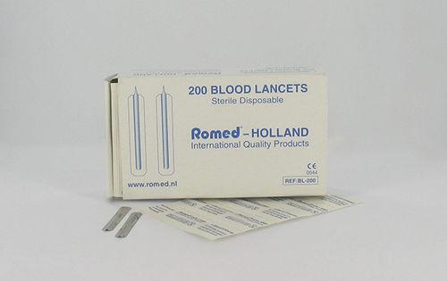 sterile lancet