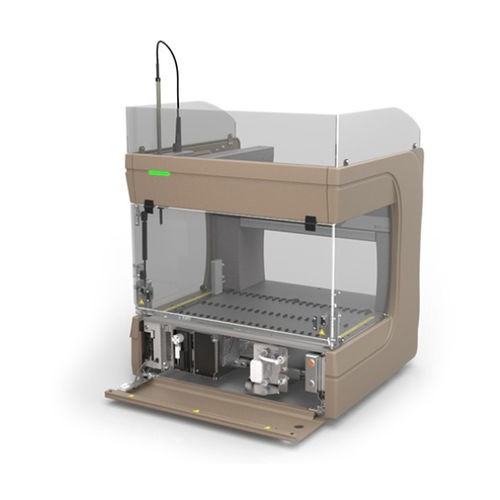 automated laboratory workstation / for liquid handling / benchtop