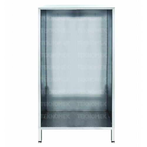 storage cupboard / for general purpose / hospital / stainless steel