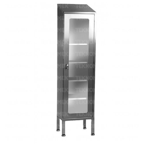 storage cupboard / for general purpose / hospital / with door