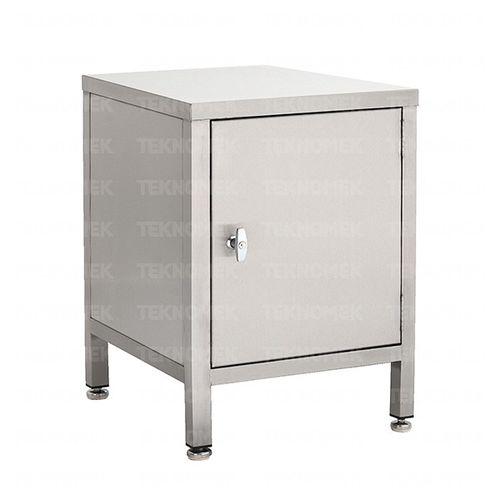 storage cupboard / for general purposes / hospital / with door