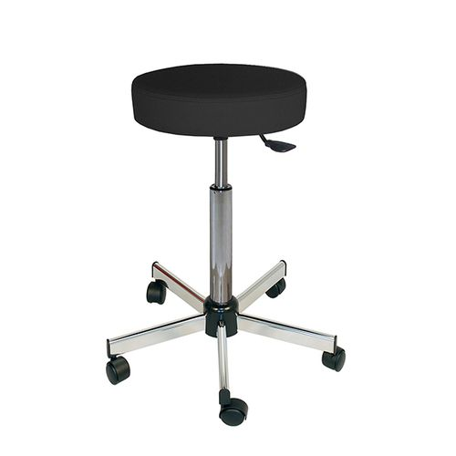 laboratory stool / doctor's office / for clean rooms / height-adjustable