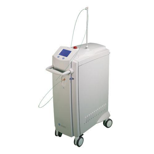 lithotripsy laser / soft tissue surgery / Ho:YAG / trolley-mounted