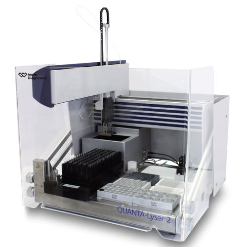 automatic immunoassay analyzer / for clinical diagnostic / benchtop / IFA
