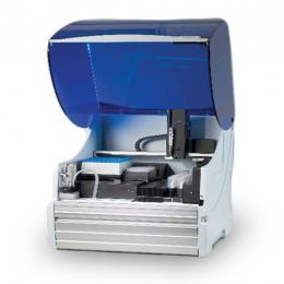 automatic sample preparation system / laboratory / for liquid handling / benchtop