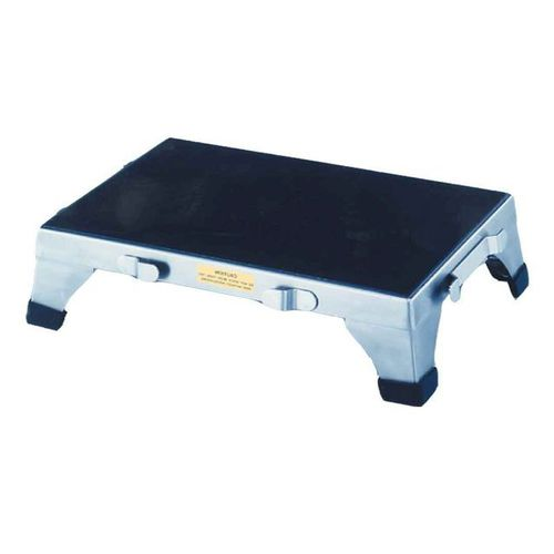 1-step step stool / stainless steel / non-magnetic