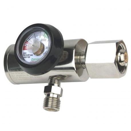 oxygen pressure regulator / plug-in type