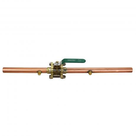 medical gas valve