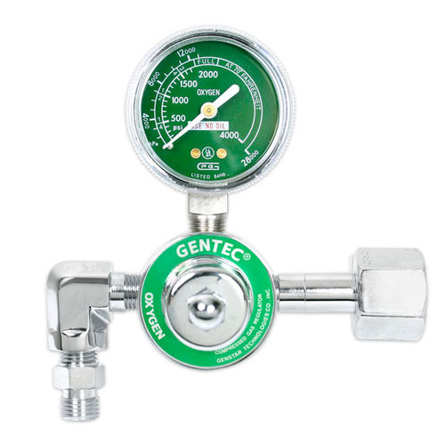 medical gas pressure regulator / single-stage