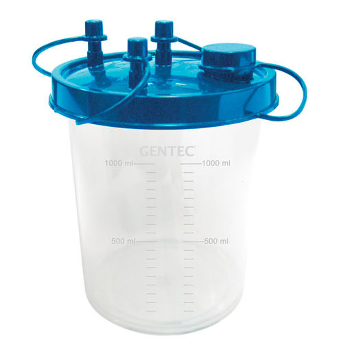 medical suction pump jar / plastic / disposable