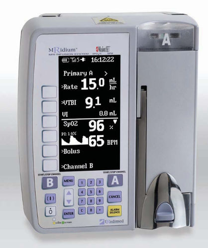 1-channel infusion pump / volumetric / adult / non-magnetic