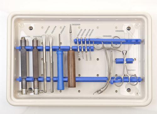 minimally invasive forefoot surgery instrument kit