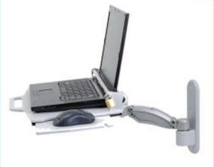 wall-mounted laptop support arm