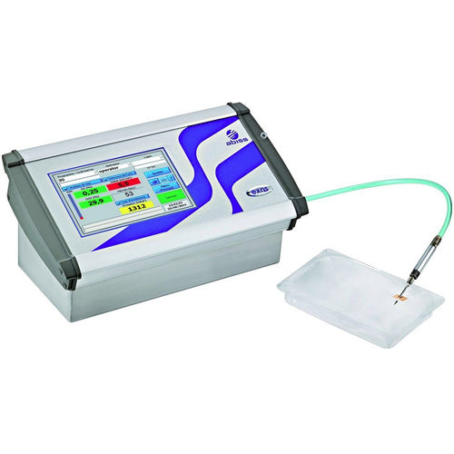 gas quality analyzer / flow rate / leak-tightness / for MAP packaging