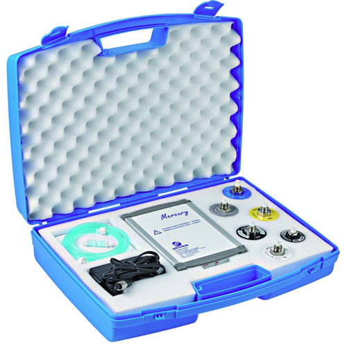 oxygen analyzer / pressure / for medical gas outlets / portable