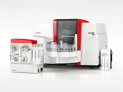 atomic absorption spectrometer / for the food industry / for environmental analysis / benchtop