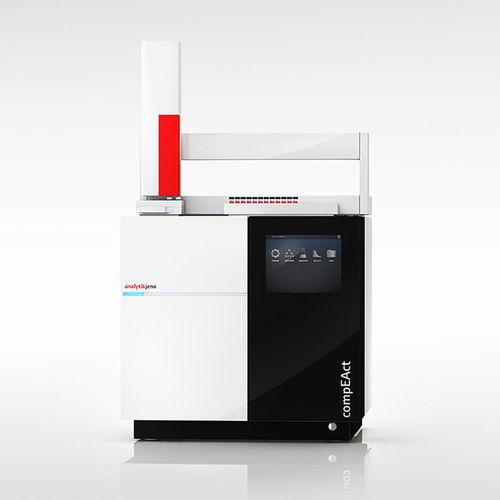 nitrogen analyzer / TN / sulfur / laboratory