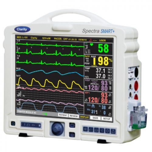 multi-parameter ECG monitor / intensive care / compact / pediatric