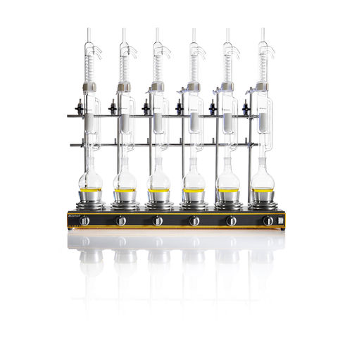 Soxhlet laboratory extractor