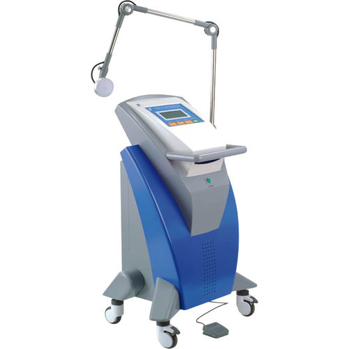 microwave diathermy unit / trolley-mounted