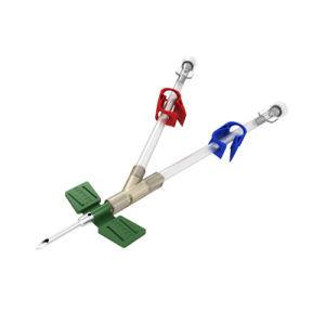 IV injection needle / puncture